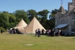 Tipi Wedding Pano